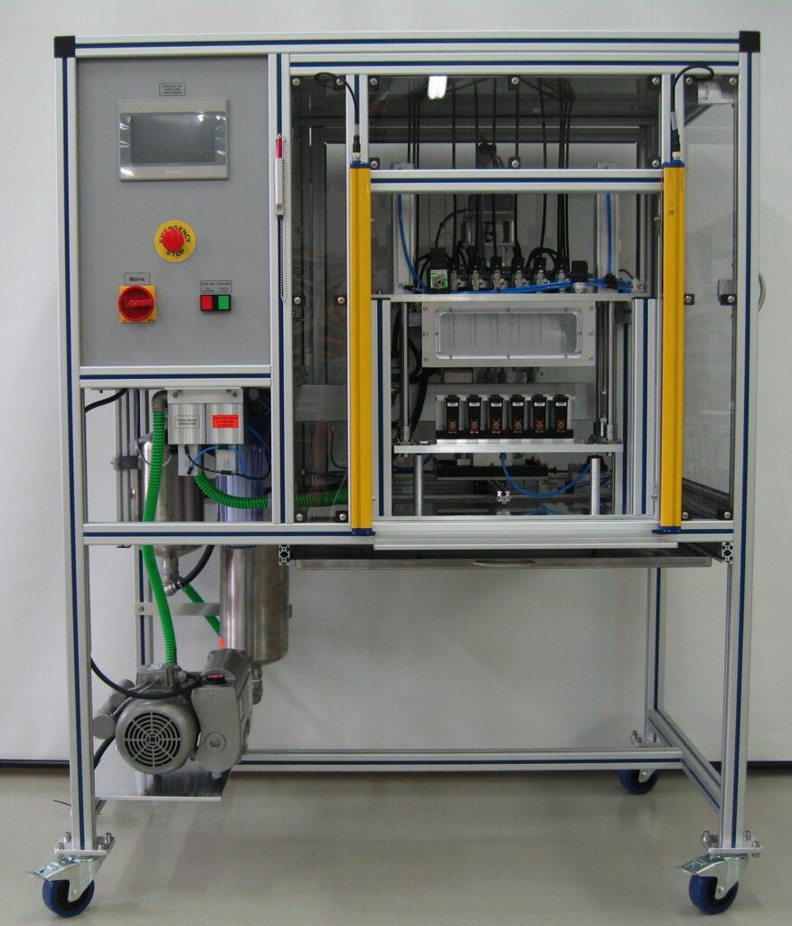 Sponge cartridges filling machine